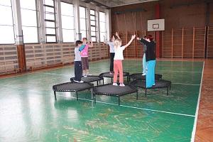 trampolinky
